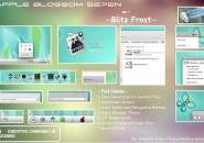 Apple blossom theme for windows 7