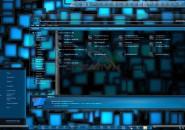 Aqua v2 dark theme for windows 7