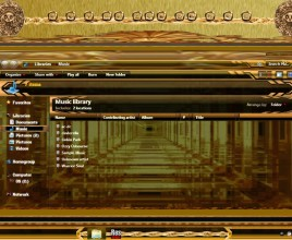 Aztec gold theme for windows 7