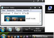 Basic black theme for windows 7
