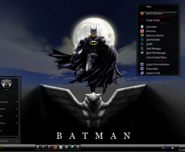 Batman mini v2 theme for windows 7
