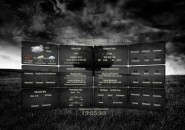 Black Natura Rainmeter Theme