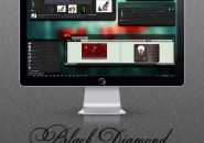 Black diamond theme for windows 7
