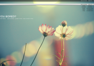 Blossoms Shaded Rainmeter Skin