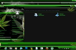 Canabis theme for windows 7