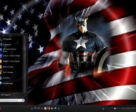 Captain america theme for windows 7