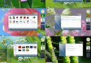 Clear glass theme for windows 7