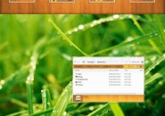 Color wood theme for windows 7