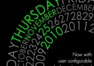 Corner Calendar Rainmeter Skin For Windows 7