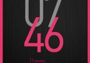 Cowon Clock Pink Rainmeter Skin