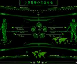 Crysis2 Rainmeter Theme for Windows 7