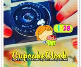 Cupcake Clock Rainmeter Skin For Windows 7