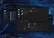 Dark sensation theme for windows 7