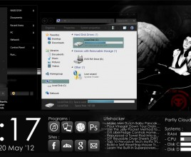 Dark spot elegant theme for windows 7