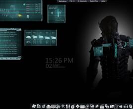 Dead Space Rig Armor Rainmeter Skin