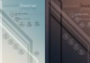 Dream Anywhere Windows 7 Rainmeter Skin