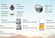 Drives,Folder,Weather Maminscris Rainmeter Skin For Windows 7