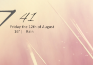 Exmouth Black Rainmeter Theme For Windows 7