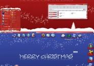 Fantastic Christmas Windows Blind Theme