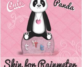 Fay Panda Windows 7 Rainmeter Theme