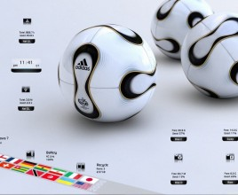 Football Rainmeter Skin For windows 7