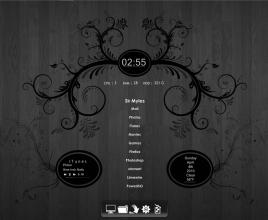 Forbidden Fruit Rainmeter Theme For Windows 7