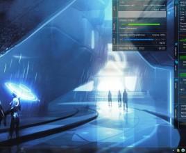 Force Extended Rainmeter Theme For Windows 7