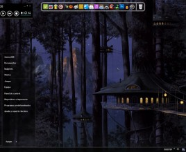 Forest dark theme for windows 7