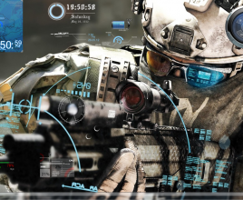 Ghost Recon Rainmeter Skin