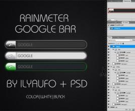 Google Powered Windows 7 Rainmeter Skin