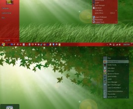 Green forest theme for windows 7