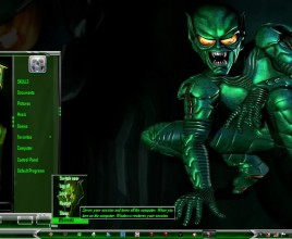 Green goblin theme for windows 7