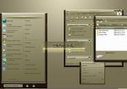 Grey Shade Windows Blind Theme