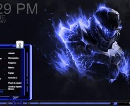 Halo 4 glass theme for windows 7