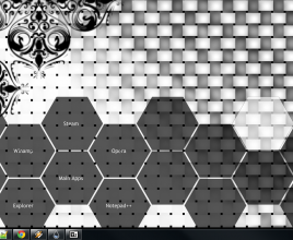 Hexa Gonads Comb Rainmeter Theme For Windows 7