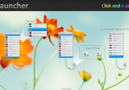 I Launcher Blossoms Rainmeter Skin For Windows 7