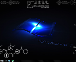 Intelligent Giant Rainmeter Skin