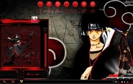 Itachi theme for windows 7