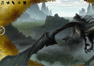 Journey To Dragons Windows 7 Rainmeter Theme