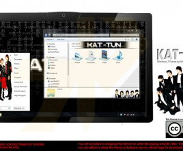 Kat tun theme for windows 7