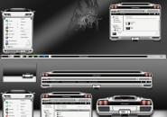 Lamborghini White Edition Windows Blind Theme