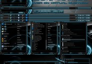 Laser light theme for windows 7