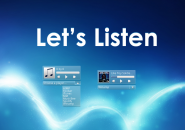 Lets Listen Rainmeter Skin For Windows 7