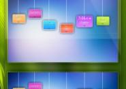Life Colors Rainmeter Theme For Windows 7