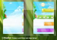 Life Colours Rainmeter Skin For Windows 7