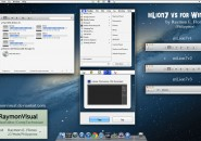 Lion v2 theme for windows 7