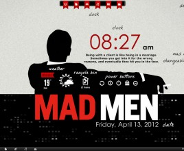Madmen Rainmeter Theme For Windows 7