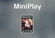 Mini Play Rainmeter Theme