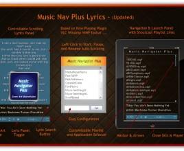 Music Navigator Rainmeter Theme