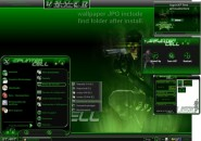 My Splintered Cell Windows Blind Theme